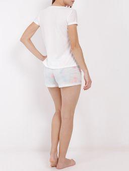 Pijama-Curto-Feminino-Branco-P