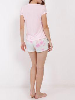 Pijama-Curto-Feminino-Rosa-P