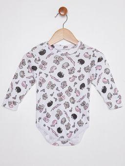 Pijama-Infantil-Para-Bebe---Branco-marrom-P