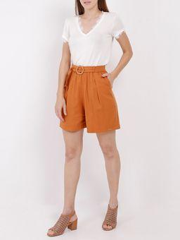 134878-short-tecido-anele-viscolinho-passante-laranja
