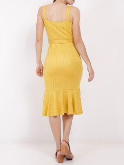 Vestido-Midi-Feminino-Amarelo-P