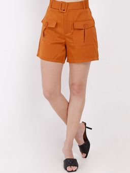 136031-short-tecido-plano-eagle-rock-cinto-laranja-pompeia