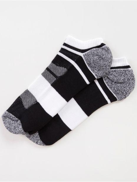 137888-meia-soquete-adulto-vels-preto-branco
