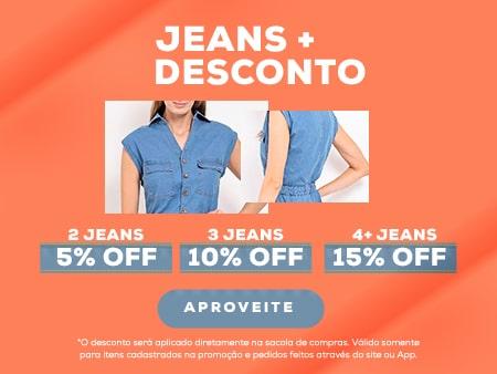 M Desconto Progressivo Jeans