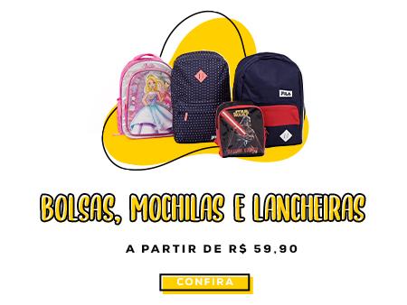 M Mochilas e Lancheiras
