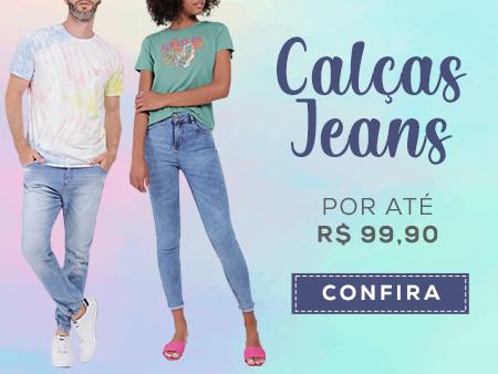 M Calças Jeans