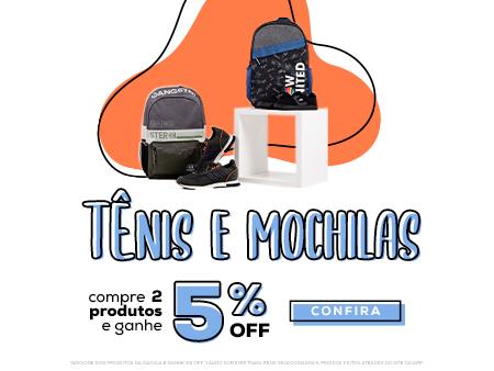 M Tênis e Mochilas