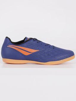 Tenis-Futsal-Americas-Penalty-Masculino-Azul-Marinho-laranja