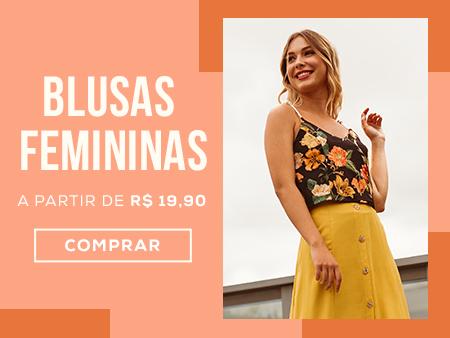 M Blusas Femininas