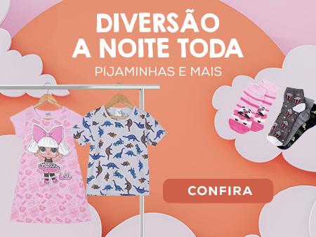 M Pijamas infantis