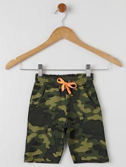 Bermuda-Moletinho-Camuflada-Infantil-Para-Menino---Verde