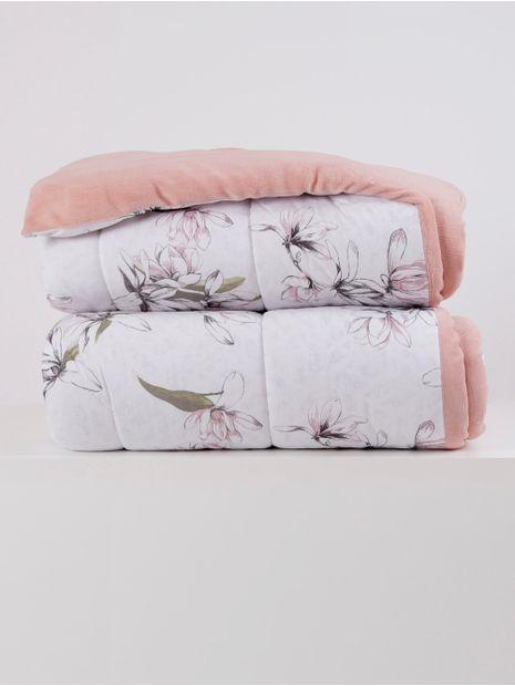 Edredom-Casal-Altenburg-Blend-Malha-Rose-branco