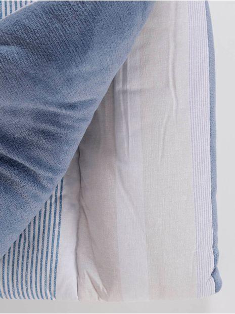 Edredom-Solteiro-Altenburg-Blend-Malha-Azul-branco