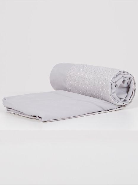 Jogo-de-Lencol-Casal-Simples-Altenburg-All-Design-Cinza-branco