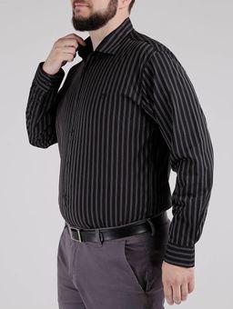 Camisa-Manga-Longa-Plus-Size-Masculina-Preto