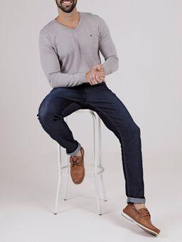Calca-Jeans-com-Puidos-Masculina-Azul