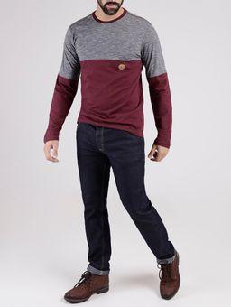 Camiseta-Manga-Longa-Vels-Masculina-Bordo