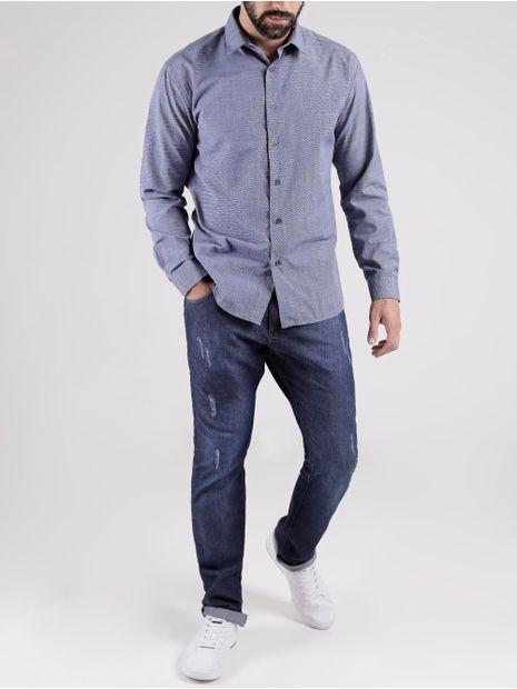 Camisa-Manga-Longa-Masculino-Azul