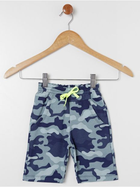 Bermuda-Moletinho-Camuflada-Infantil-Para-Menino---Chumbo
