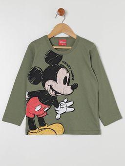 Camiseta-Manga-Longa-Infantil-Para-Menino---Verde