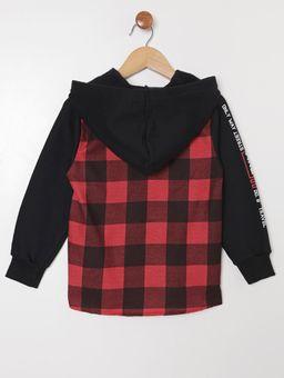 Camisa-com-Capuz-Manga-Longa-Infantil-Para-Menino---Vermelho