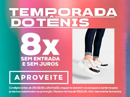 M Temporada do tênis 8x / Calçados OI 21