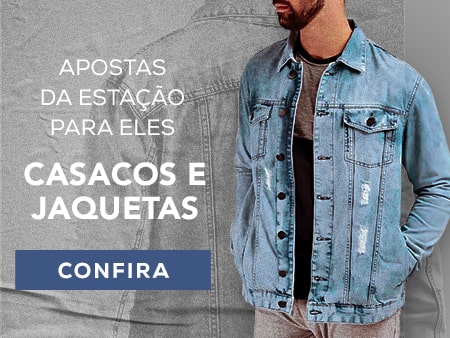 M Casacos e Jaquetas masculinos