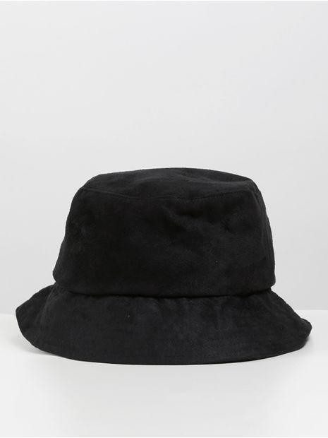 Chapeu-Bucket-Suede-Preto