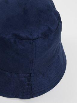 Chapeu-Bucket-Suede-Azul-Marinho