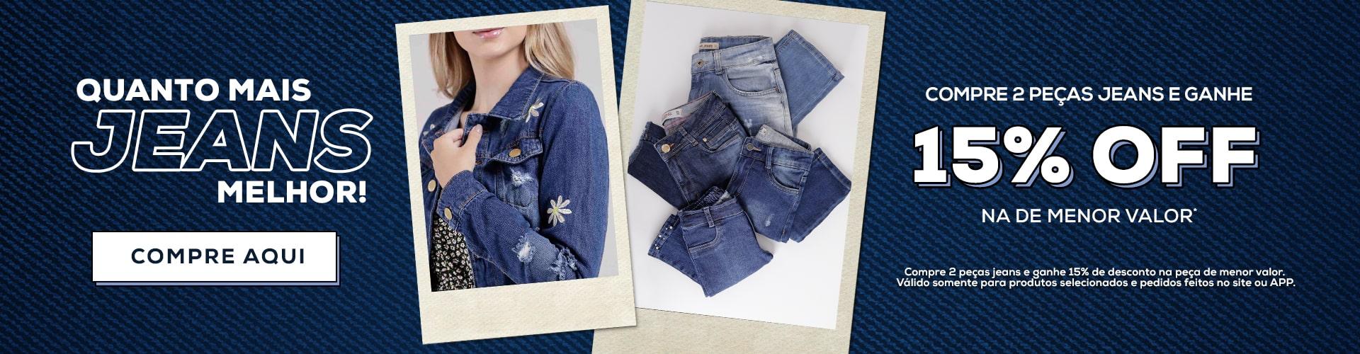 Combo Jeans / Feriado Tiradentes