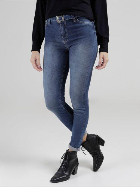 Calca-Jeans-Skinny-Com-Cinto-Feminina-Azul