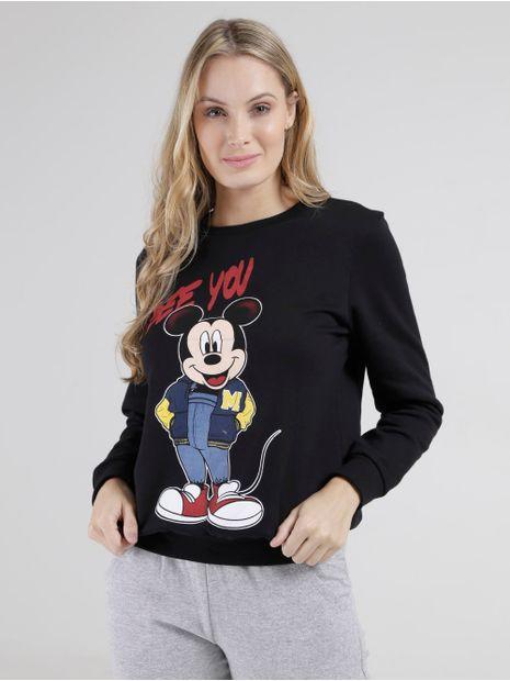 Moleton-Disney-Feminino-Preto