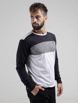 Camiseta-Manga-Longa-Masculina-Cinza