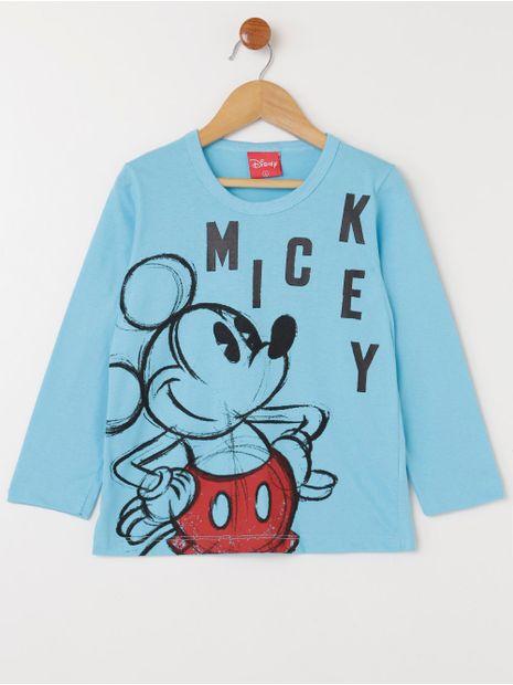 Camiseta-Manga-Longa-Disney-Infantil-Para-Menino---Azul