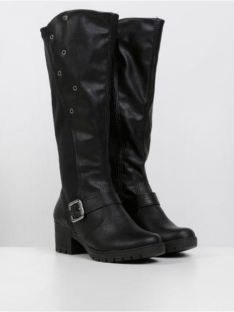 141828-bota-para-menina-pink-cats-preto-preto