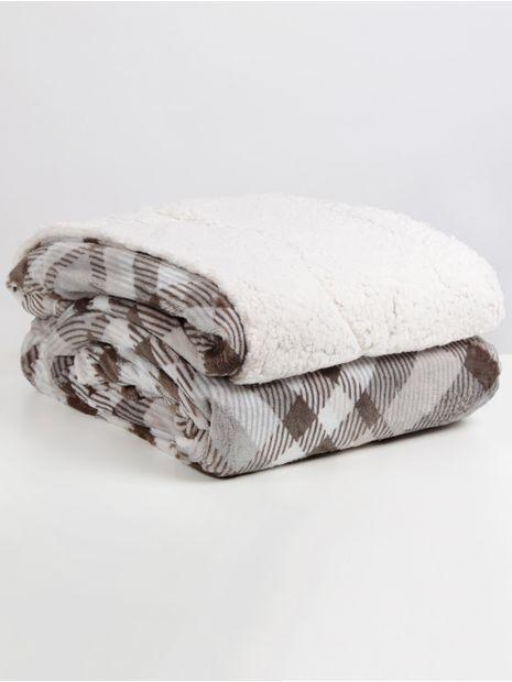 136684-cobertor-casal-hedrons-xadrez2