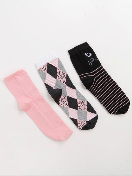 142265-kit-meia-cia-meia-preto-rosa-rosa