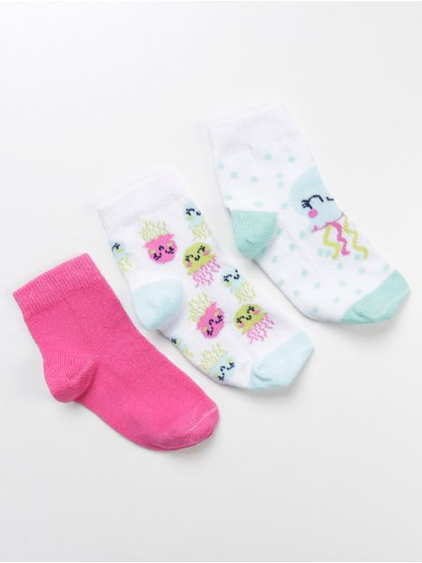 139351-kit-meia-bebe-cia-da-meia-branco-pink-branco