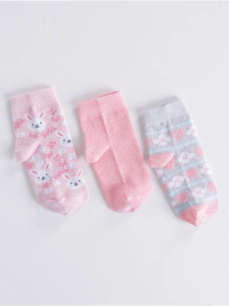 139351-kit-meia-bebe-cia-da-meia-rosa-rosa-mescla