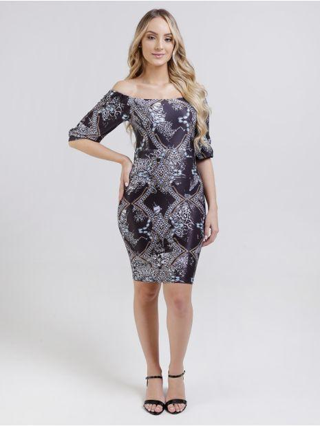 121251-vestido-autentique-estampado-preto1