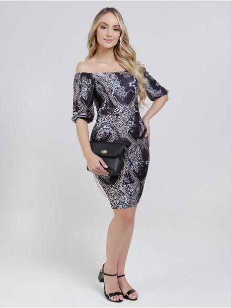 121251-vestido-autentique-estampado-preto