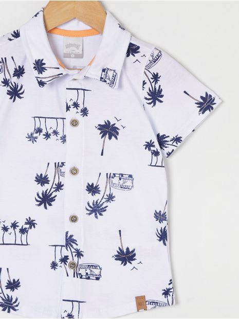 Camisa-Manga-Curta-Infantil-Para-Menino---Branco