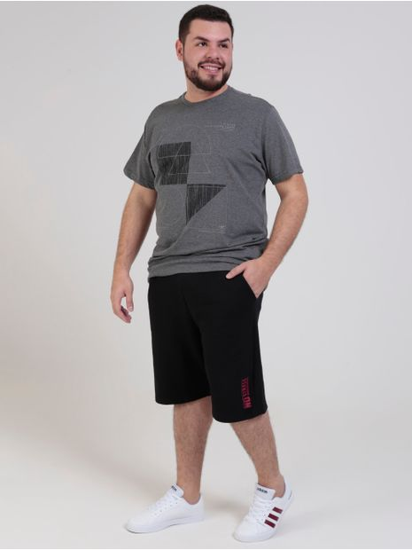 Camiseta-Manga-Curta-Dixie-Plus-Size-Masculina-Cinza