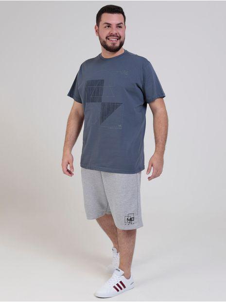 Camiseta-Manga-Curta-Dixie-Plus-Size-Masculina-Azul