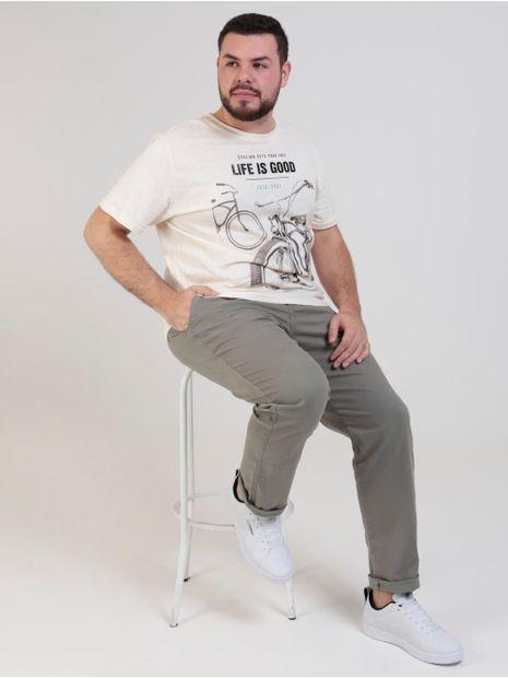 Calca-Sport-Bivik-Plus-Size-Masculina-Verde