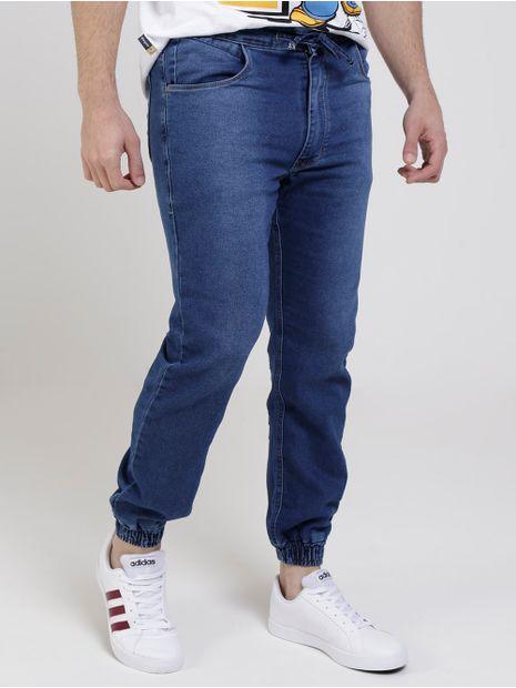 Calca-Jogger-Jeans-Masculina-Azul