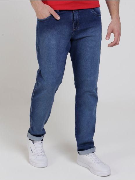Calca-Skinny-Jeans-Moletom-Bivik-Masculina-Azul-