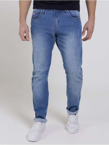 Calca-Jeans-Estonada-Bivik-Masculina-Azul