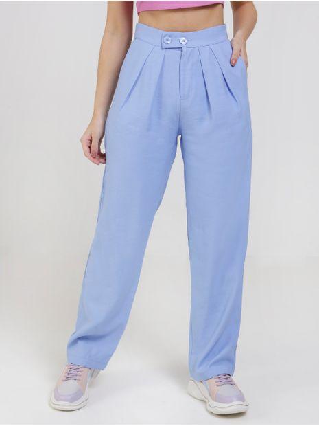 Calca-de-Tecido-Autentique-Feminina-Azul