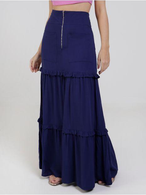 Saia-Longa-Autentique-Feminina-Azul